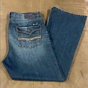 Men's Seven7 Jeans Bootcut Boot 38 38R 38x32